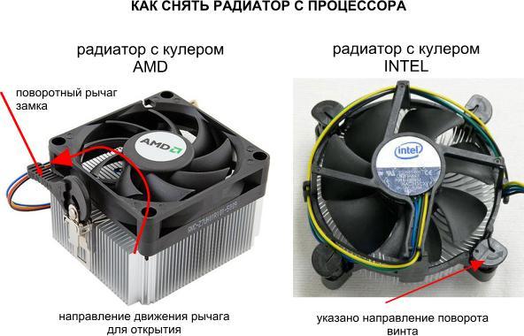 Как правильно заменить термопасту на процессоре и видеокарте? / Кулеры и системы охлаждения