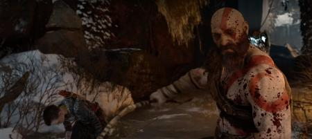 Kratos in blood